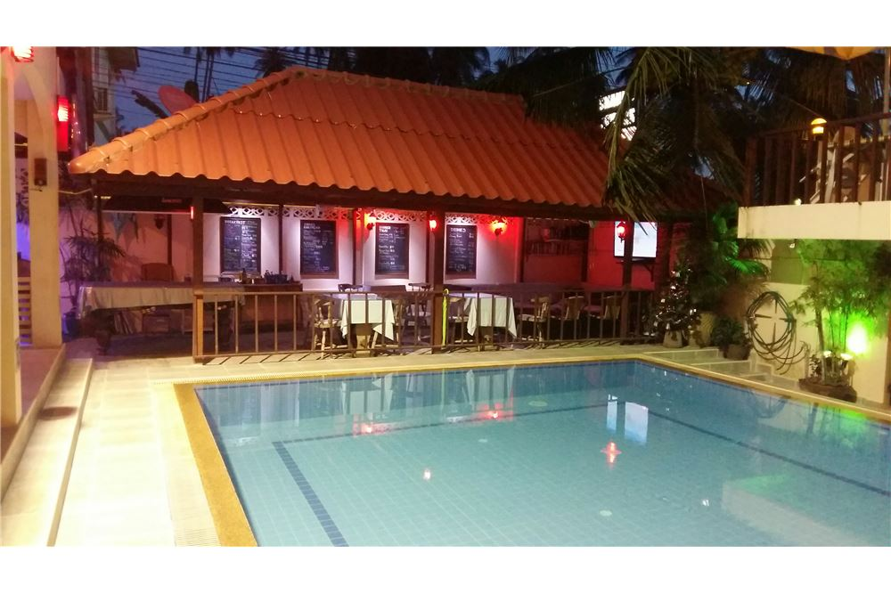 Freehold hotel for sale in Lamai