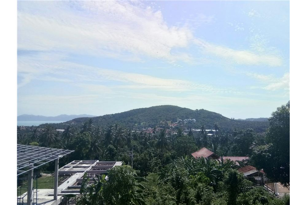 Sea view land for sale in Bophut