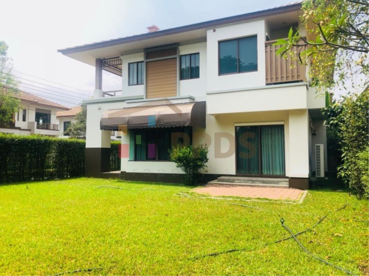 House for rent with a big yard 3 bedrooms very close to Mega Bangna and Concordian School