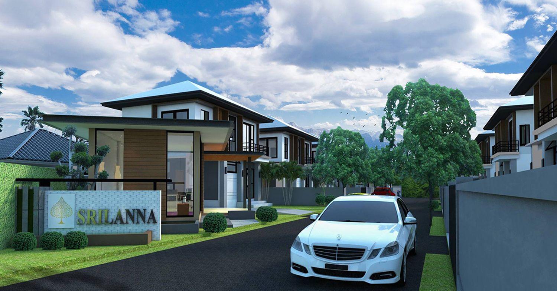 บ้านศรีลานนา ชุมชนจามเทวี - บรรยากาศ - 1